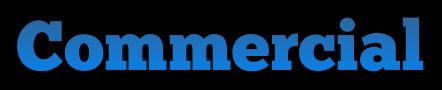 Commercial Blue Header